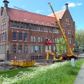 Sloopwerkzaamheden Hogeschool te Rotterdam