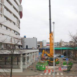 Renovatie sloop Grafisch Lyceum Rotterdam